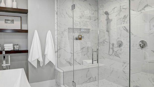 Il marmo come rivestimento semplice e di grande effetto