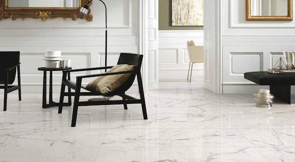 Collezione Marbleplay, rivestimenti in gres porcellanato effetto marmo - Foto e design di Marazzi