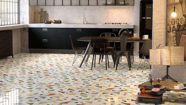 Pavimento in marmo ad intarsio Opus Allegro - Foto e prodotti by Lithos Design