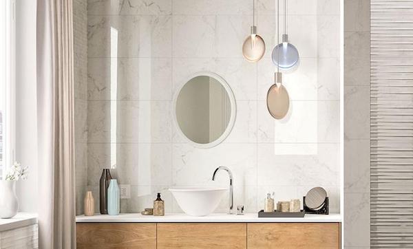 Elegance, rivestimento effetto marmo per pareti - Foto e design di Marazzi