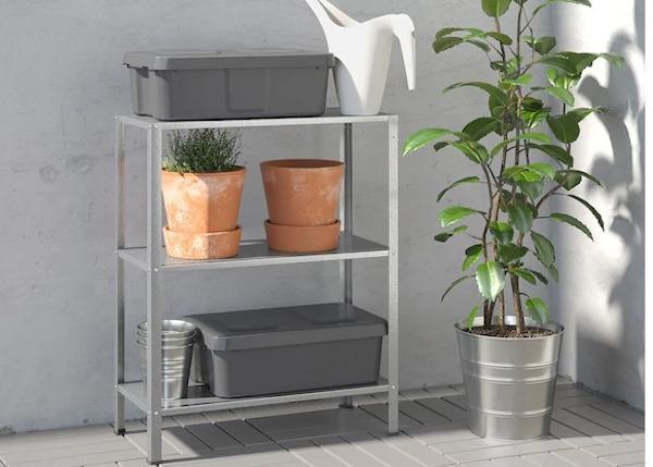 Mobiletto per esterni IKEA HYLLIS