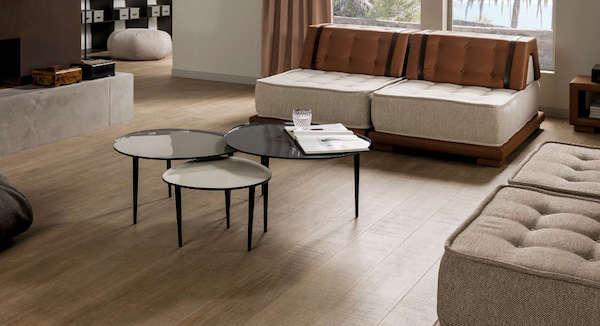 Pavimentazione per salotto in parquet ceramico - Venis by Porcelanosa