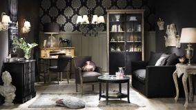 Come scegliere l'arredo stile barocco moderno per il living