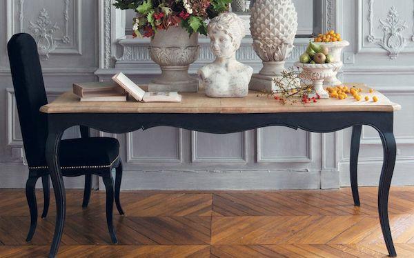 Sedia e tavolo in stile barocco - Maisons du Monde