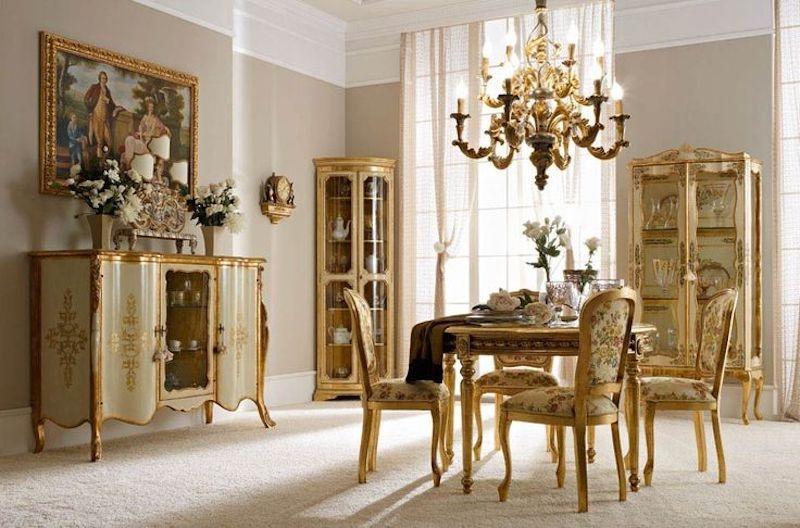Zona giorno in stile barocco - Andrea Fanfani