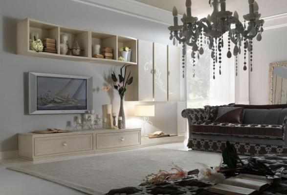 Parete attrezzata new barocco - Lopezi Arredamenti