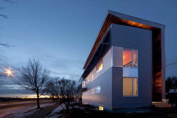 Casa passiva green Edmonton Canada