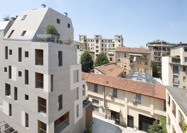 Edificio energia quasi zero K19 Milano green