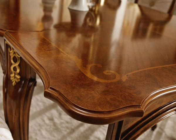 Intarsio mobili stile barocco Valdera