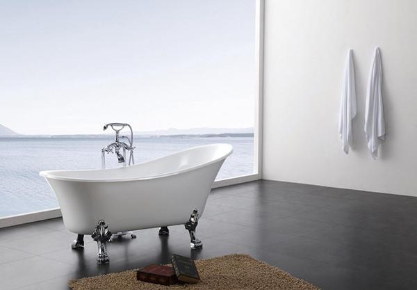 Vascha da bagno con piedini stile venezia Bernstein