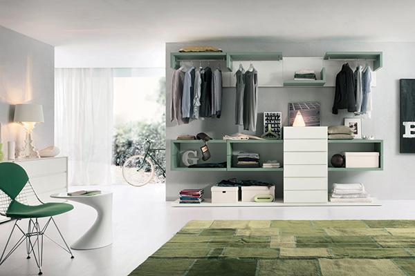 Cabina armadio componibile dotti.com
