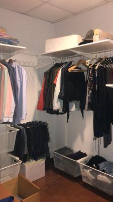 Struttura cabina armadio Ikea