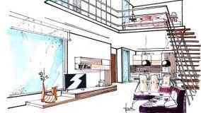 Loft con soppalco: soluzione per un arioso spazio multifunzionale