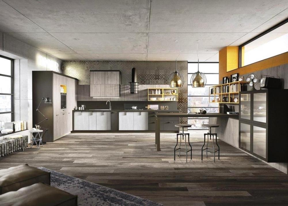 Cucina Loft in legno di design - Snaidero