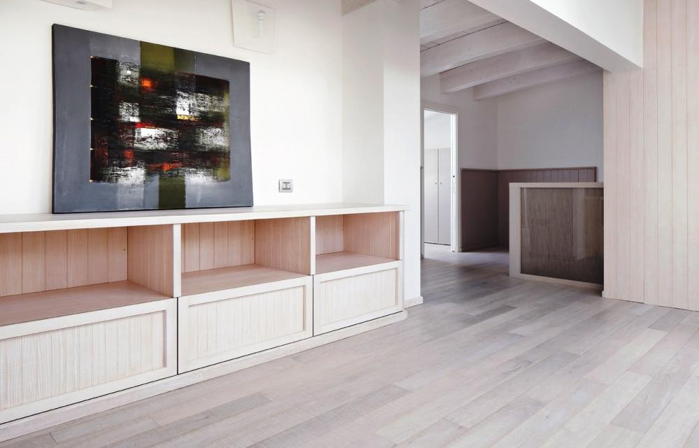 Arredo soppalco loft - Crearredo Falegnameria