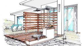 Doccia da esterno: soluzione per un attrezzato spazio all'aperto