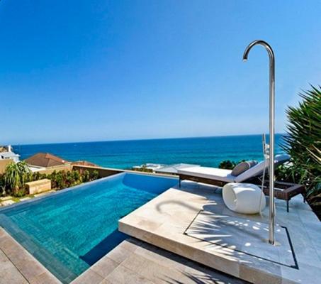 Doccia da esterno bordo piscina - Bossini