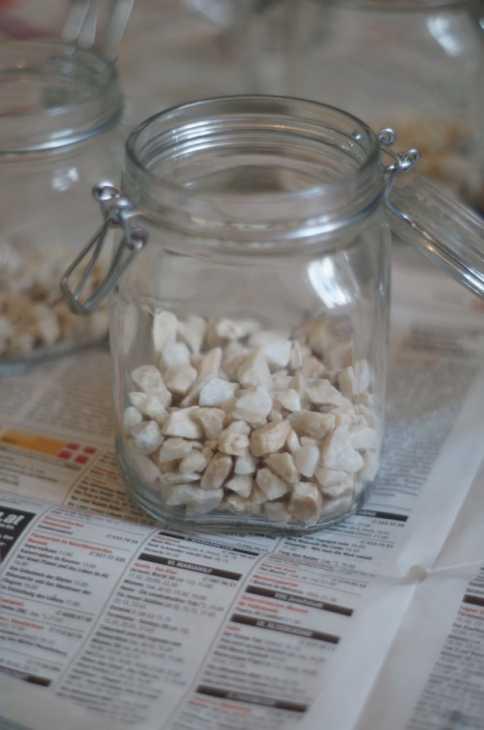 Vasi fai da te con i barattoli di vetro: parte 1, da amigaprincess.com
