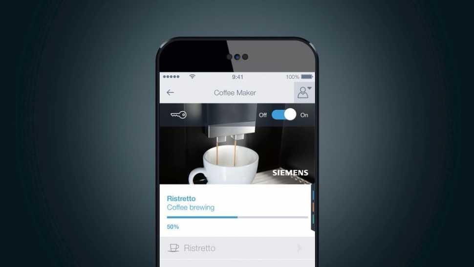 Siemens Elettrodomestici Home Connect - macchine del caffè