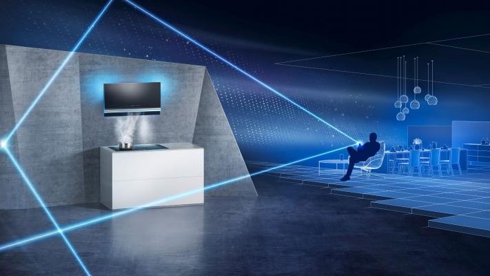 Siemens Elettrodomestici Home Connect - cappa aspirante e piano a induzione