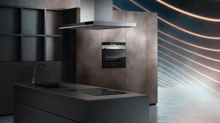 Siemens Elettrodomestici Home Connect - composizione con piano cottura e forno