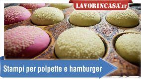 alt Accessori e stampi per preparare polpette e hamburger in casa