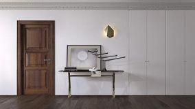 Ottimizzare lo spazio con armadi raso parete