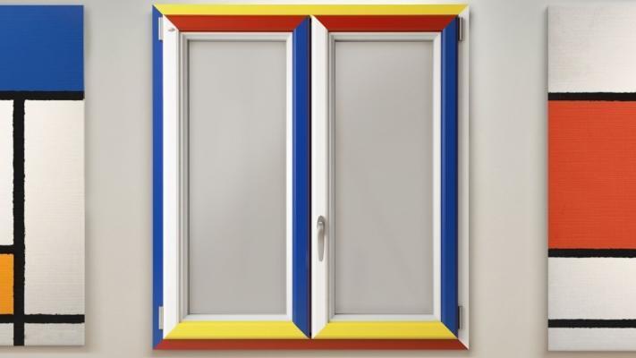 Finestre pvc Mondrian - Finestre Nurith