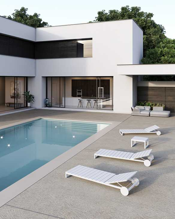 Pavimento bordo piscina RASICO - Ideal Work