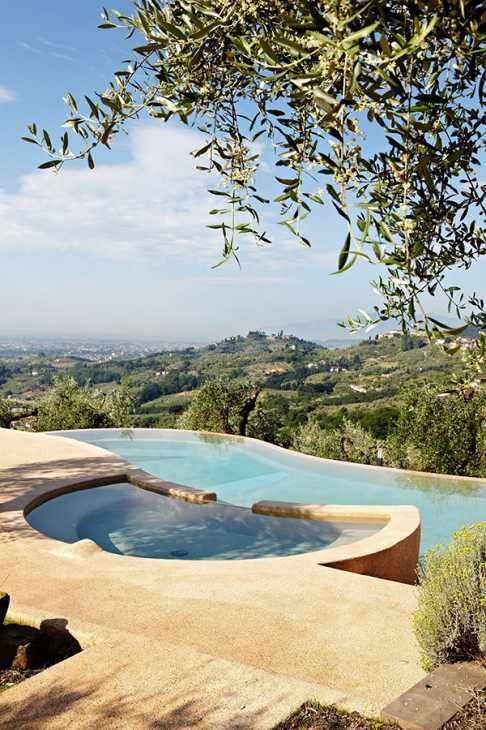 Pavimento bordo piscina Sassoitalia - Ideal Work