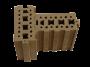 Kryoton di Ton Gruppe, esempio di mattone in terracruda
