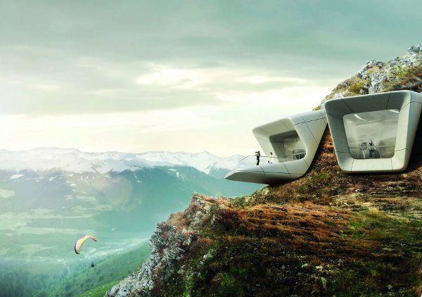 Il Messner Mountain di Zaha Hadid realizzato con impiego di terracruda