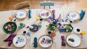 Piatti in porcellana feldspatica: pratici, resistenti e anche belli