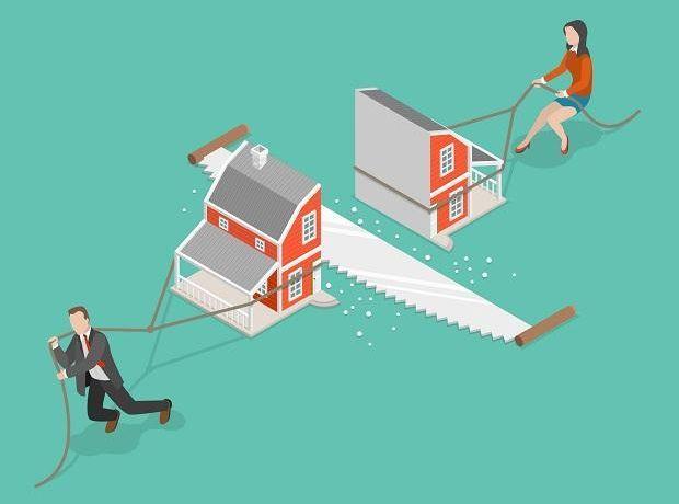 Divorzio e e comproprietà immobile