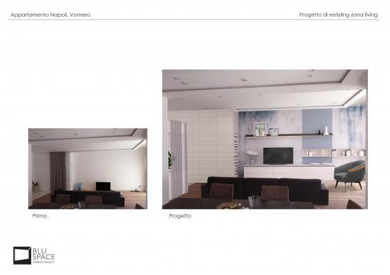 Idee zona relax: progetto dell'architetto Tommaso Marino - Blu Space