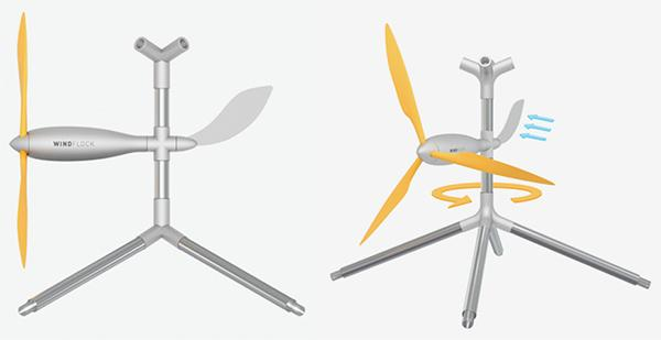 Mini pale eoliche modulari Windflock by EmamiDesign