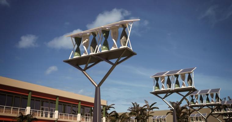 Impianto minieolico-fotovoltaico My SolarMill di WindStream Technologies