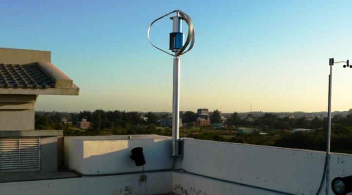 Turbina micro eoliche ad asse verticale DS300 by Etneo Italia