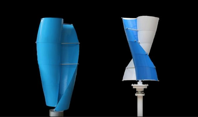 Generatore mini eolico ad asse verticale Leonardo di X-Win