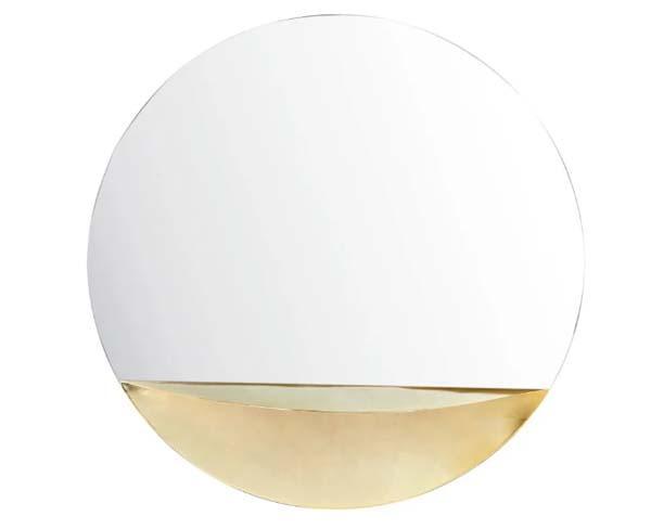 Specchio nonj mensola Glendale by Maisons du Monde