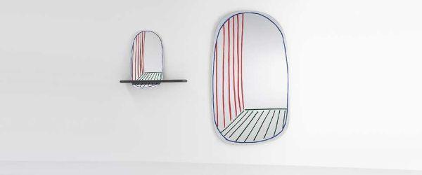 Specchio di design New Prospective Mirror di Bonaldo