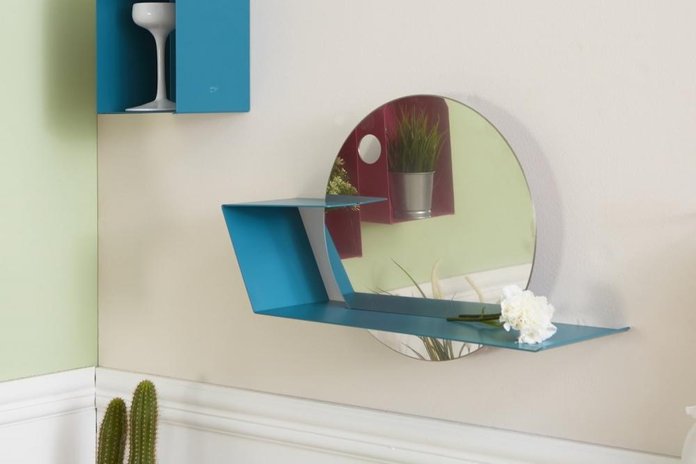 Specchio con mensola Lime by Mipiacemolto,