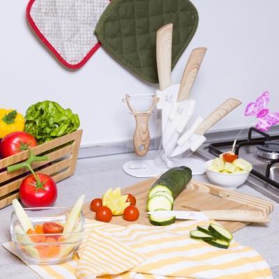 Set coltelli cucina in ceramica, da Kasanova