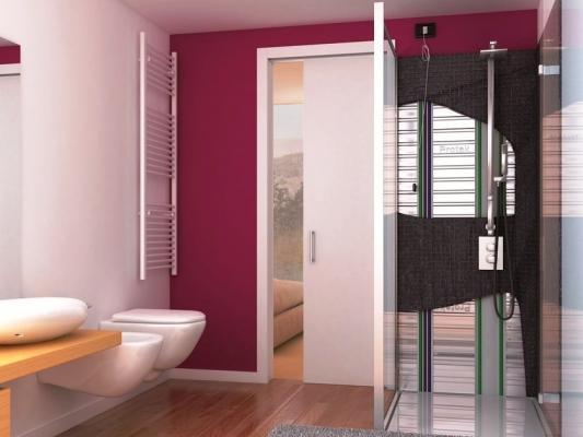 Divisione ambienti di casa: porta scorrevole Magic Box Protek