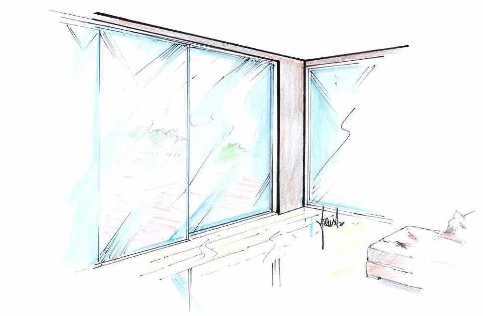 Porte finestre tutto vetro scorrevoli