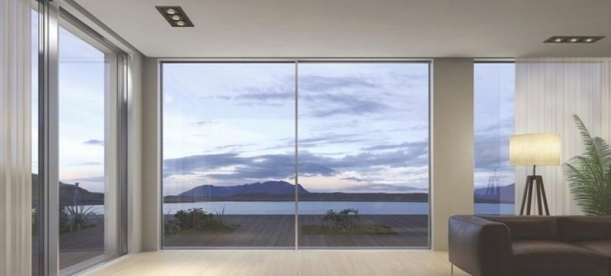 Finestre a tutta parete scorrevoli in vetro - Cetos