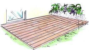 Decking fai da te da esterno: pavimenti in legno per l'outdoor