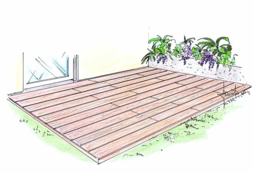 Decking teak su terrazzo: realizzazione fai da te