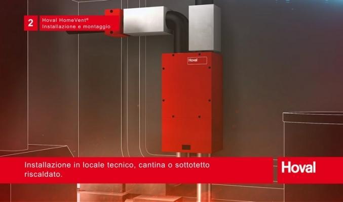 Sistema di Ventilazione controllata Hoval