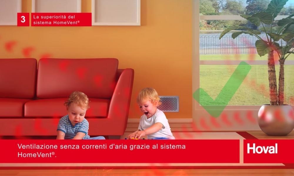 Ventilazione maccenica controllata benessere abitativo Hoval